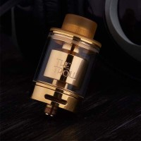 Spezial Wotofo The Troll RTA GOLD Edition 24 mm Selbstwickelverdampfer