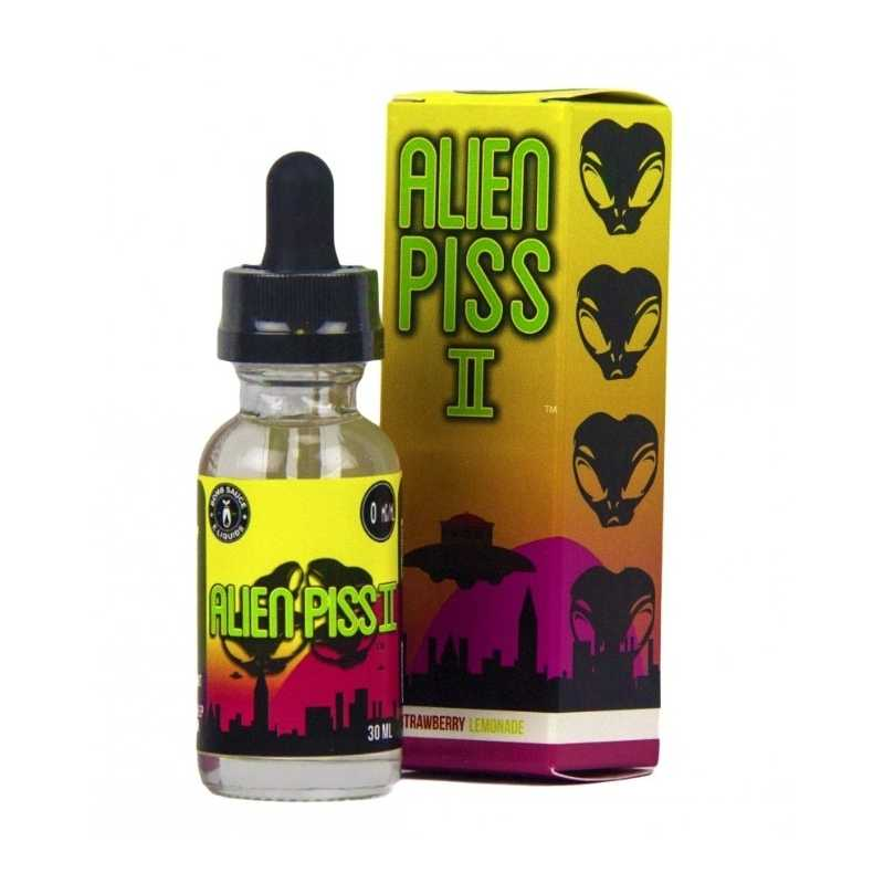50 ml Alien Piss II von Boosted Bomb Sauce
