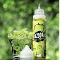 60 ml Green Apple Sour Straws by Bazooka eJuice