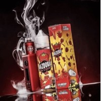 50 ml Strawberry Sour Straws by Bazooka -shortfill-