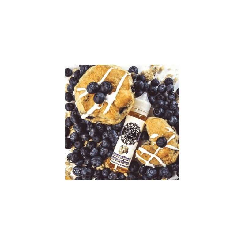 60 ml Cinnamon Glazed Blueberry Scone by Barista Brew Co