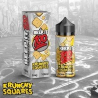 100 ml Krunchy Squares by Keep It 100